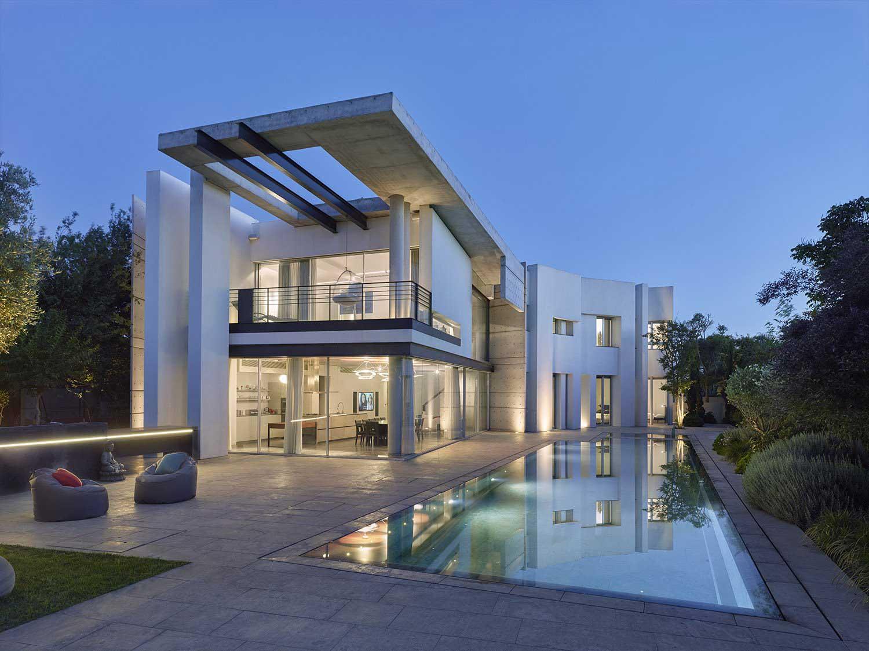 אדריכלות ותכנון בתים יוקרתיים