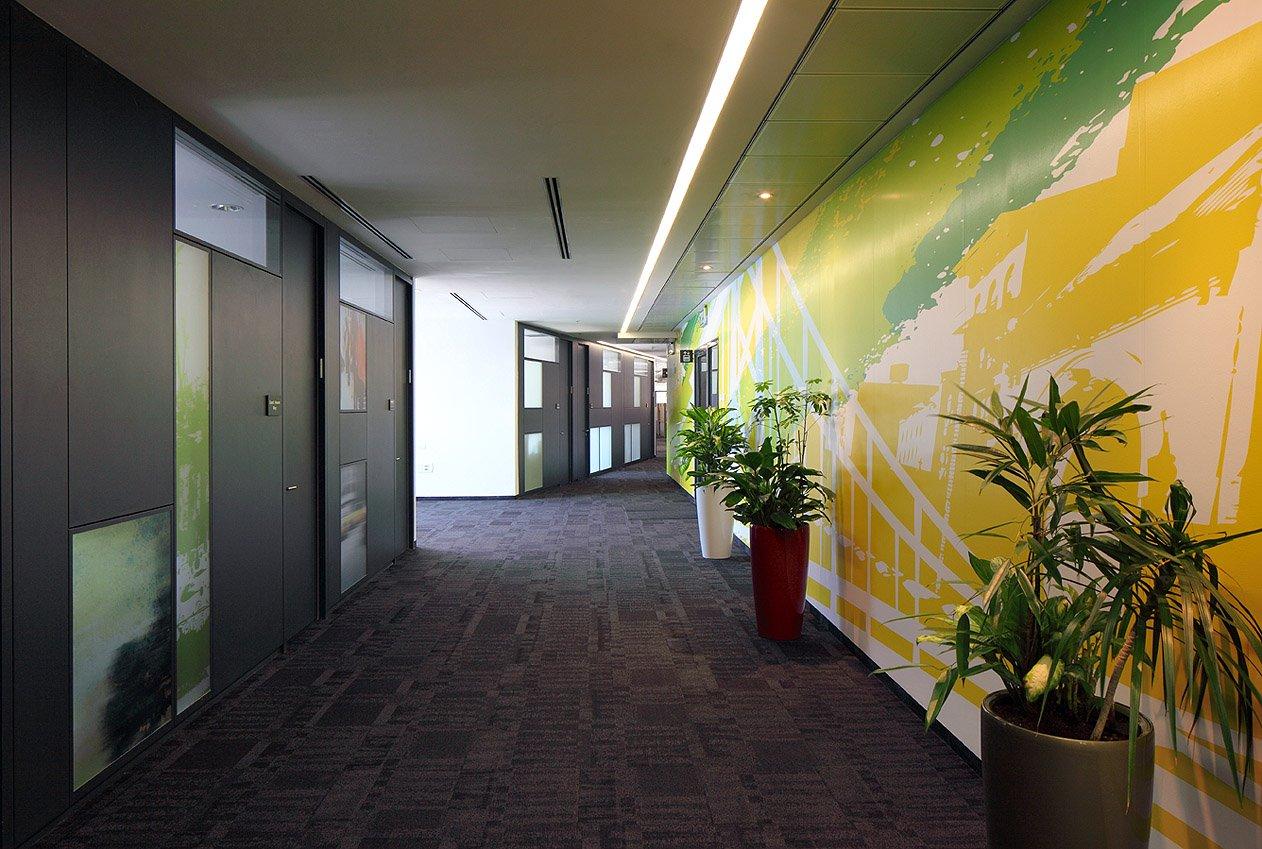 עיצוב משרדים open space למלאנוקס