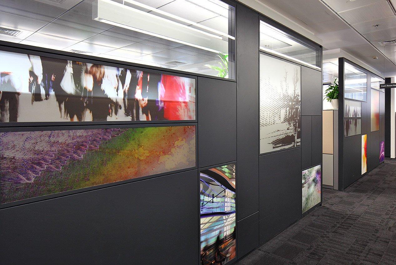 עיצוב מודרני הייטק לקירות מלאנוקס