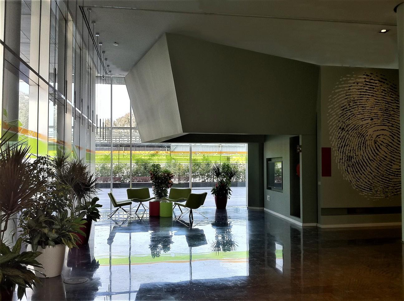 עיצוב לובי הכניסה במלאנוקס