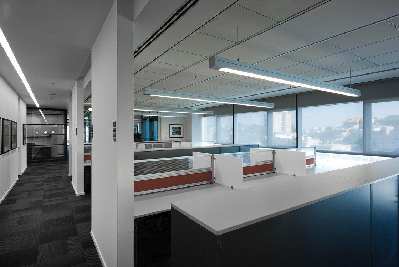 עיצוב משרדי בסגנון סטארט אפ