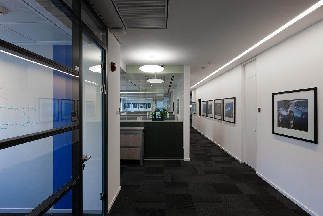 תכנון אדריכלי של משרדי גנרל מוטורס