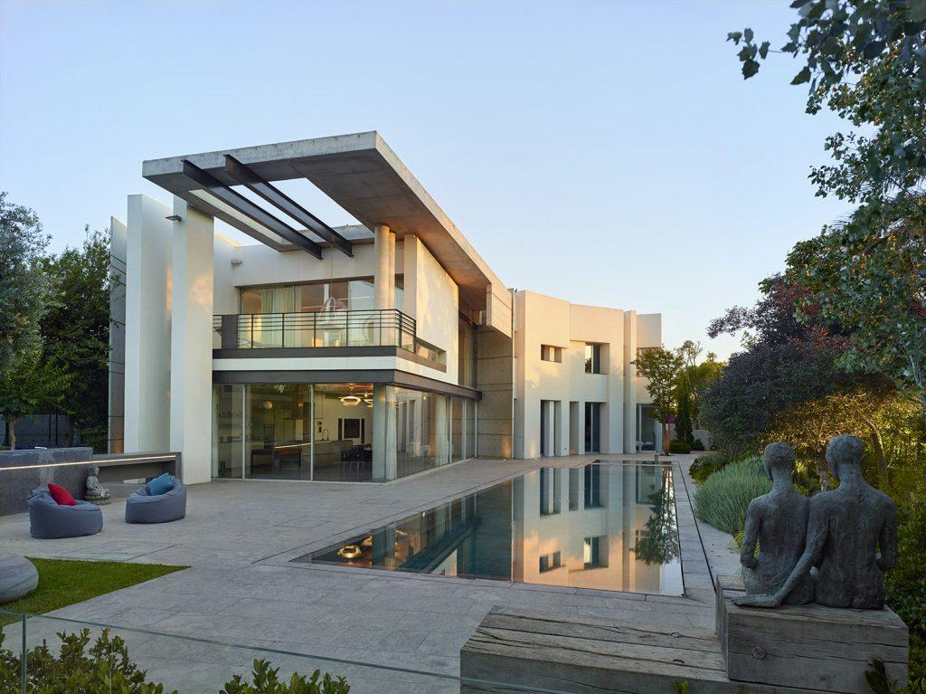 בית השרימפ, קיסריה עיצוב מודרני יוקרתי