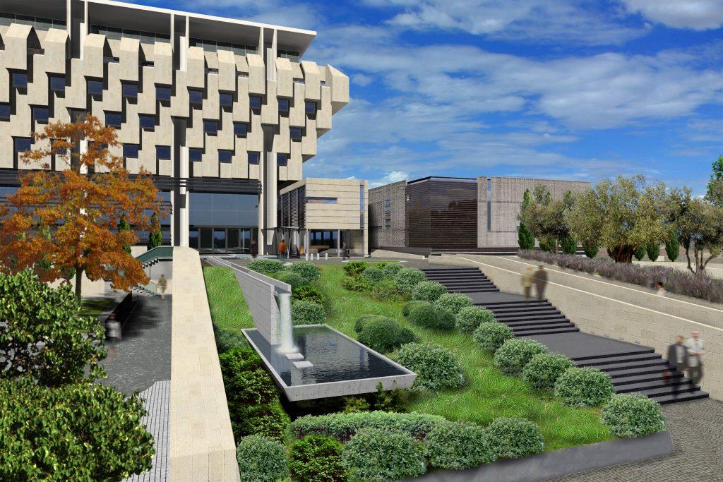 תכנון ובנייה של מבנה ציבורי