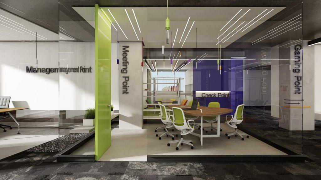 תכנון ועיצוב משרדים לצ'ק פויינט תל אביב