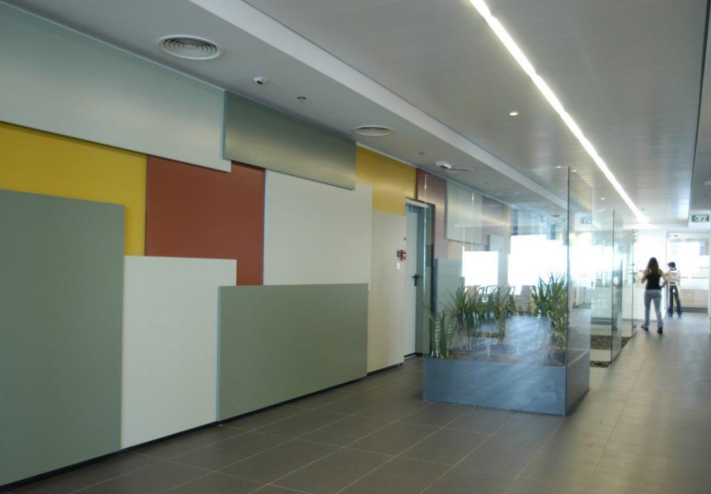 עיצוב מסחרי משרדים