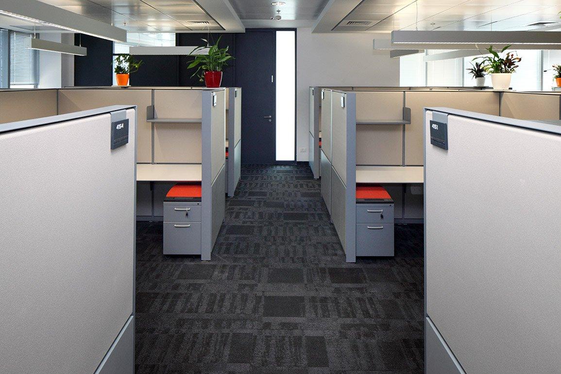חלל העבודה בעיצוב סטארט אפ במלאנוקס