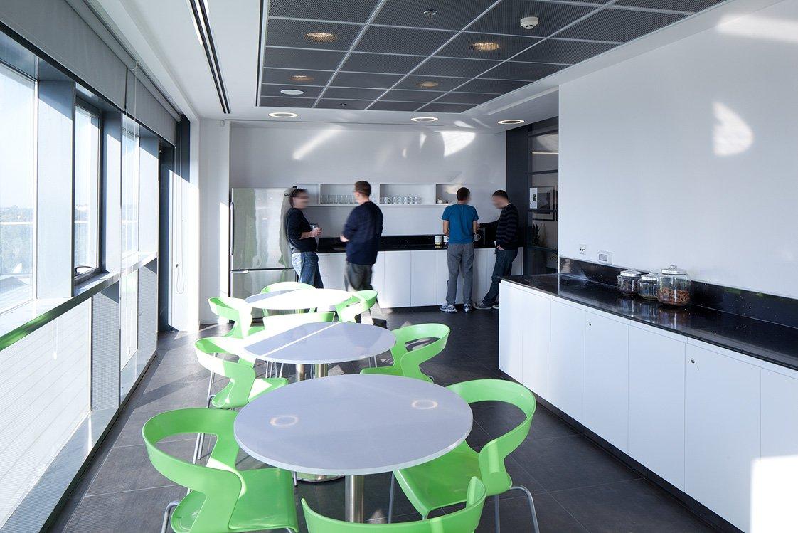 עיצוב ותכנון חדר האוכל ב GM