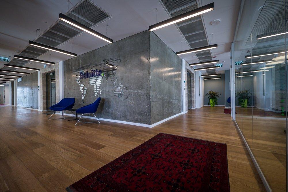 משרד מעוצב ב open space