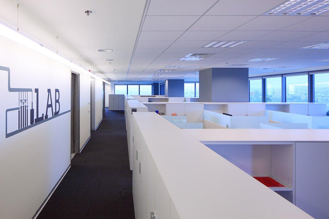 תכנון אדריכלי של מרחב עבודה