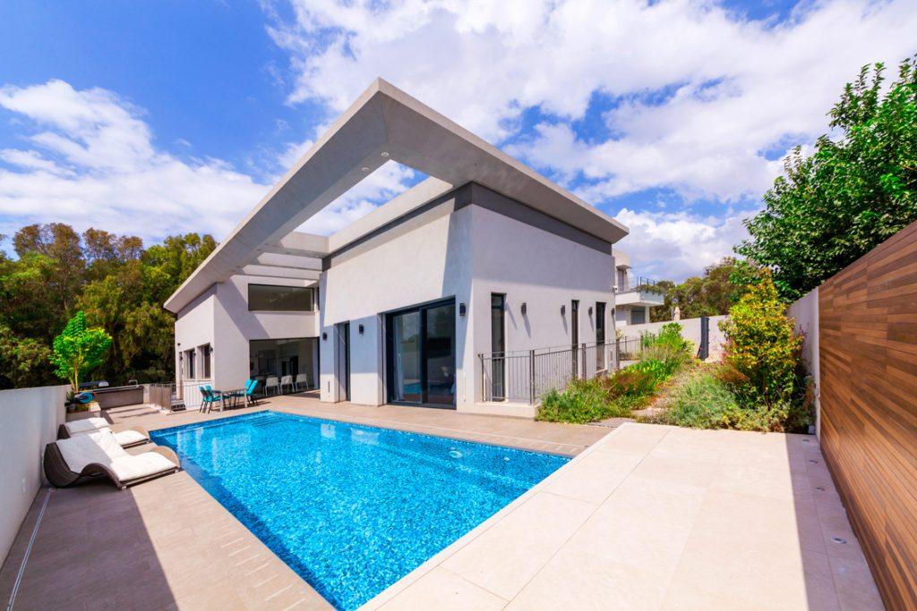 אדריכלות מודרנית לבית GA