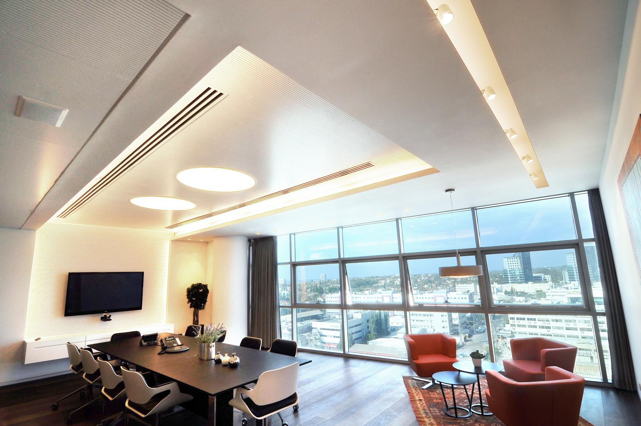 עיצוב משרדים יוקרתי ומסורתי בגלובל וילג