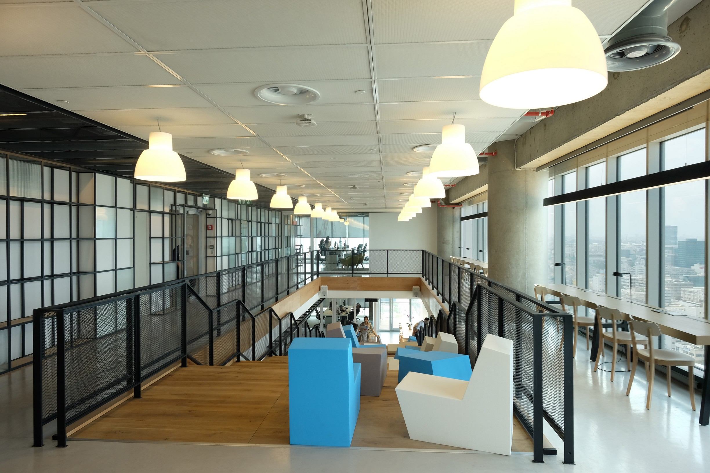 עיצוב משרדים של חברת גוגל