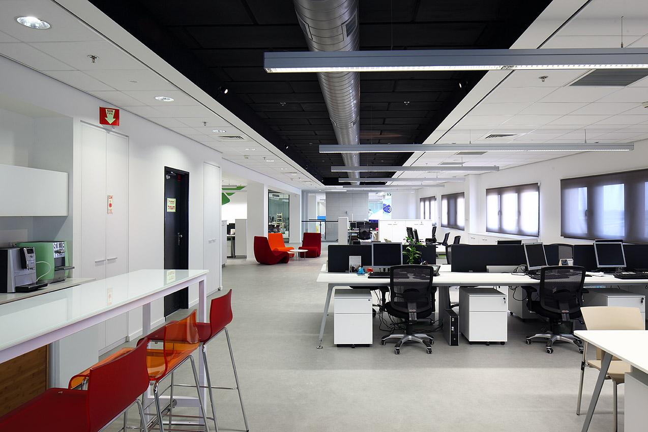 משרדי יוניליבר - עיצוב על ידי דונסקי אדריכלים