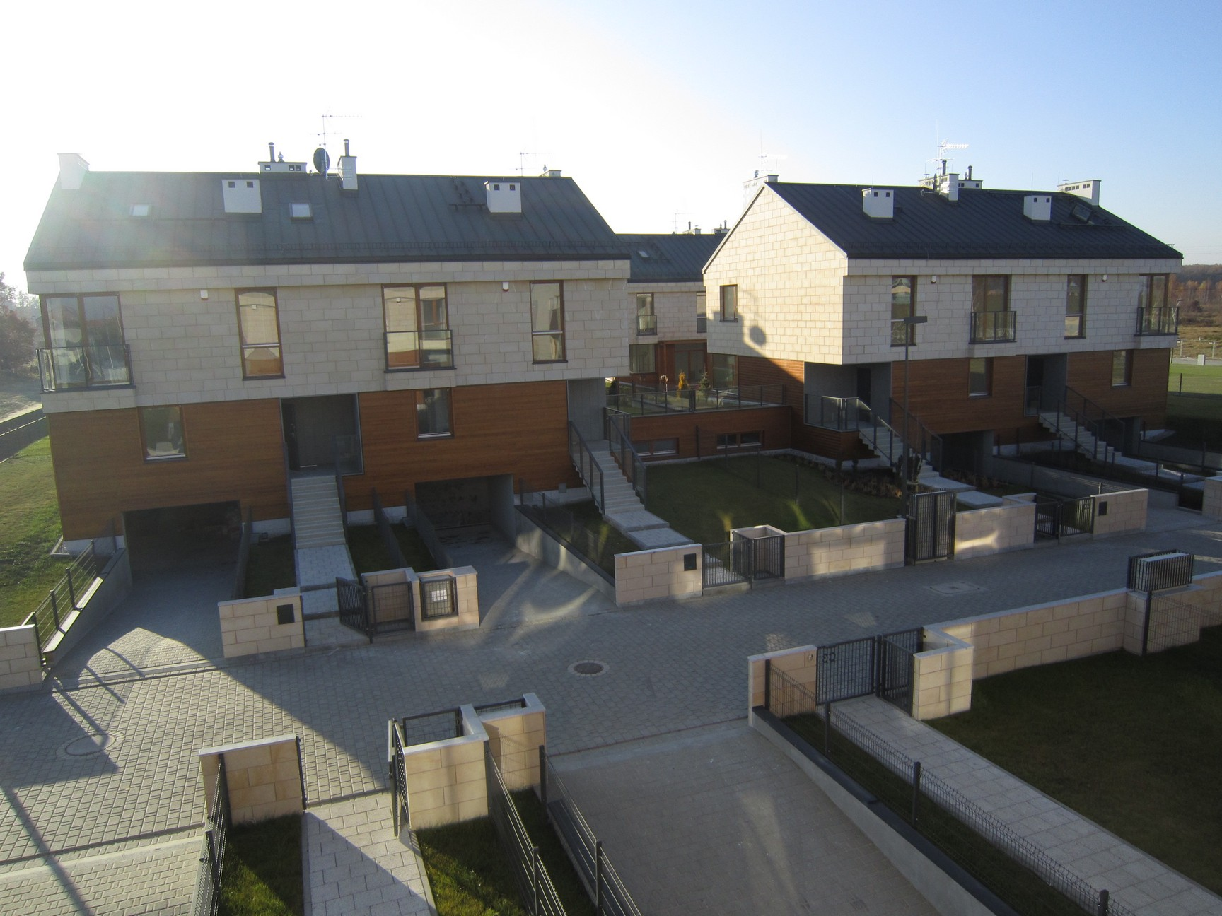 תכנון שכונת מגורים בפולין