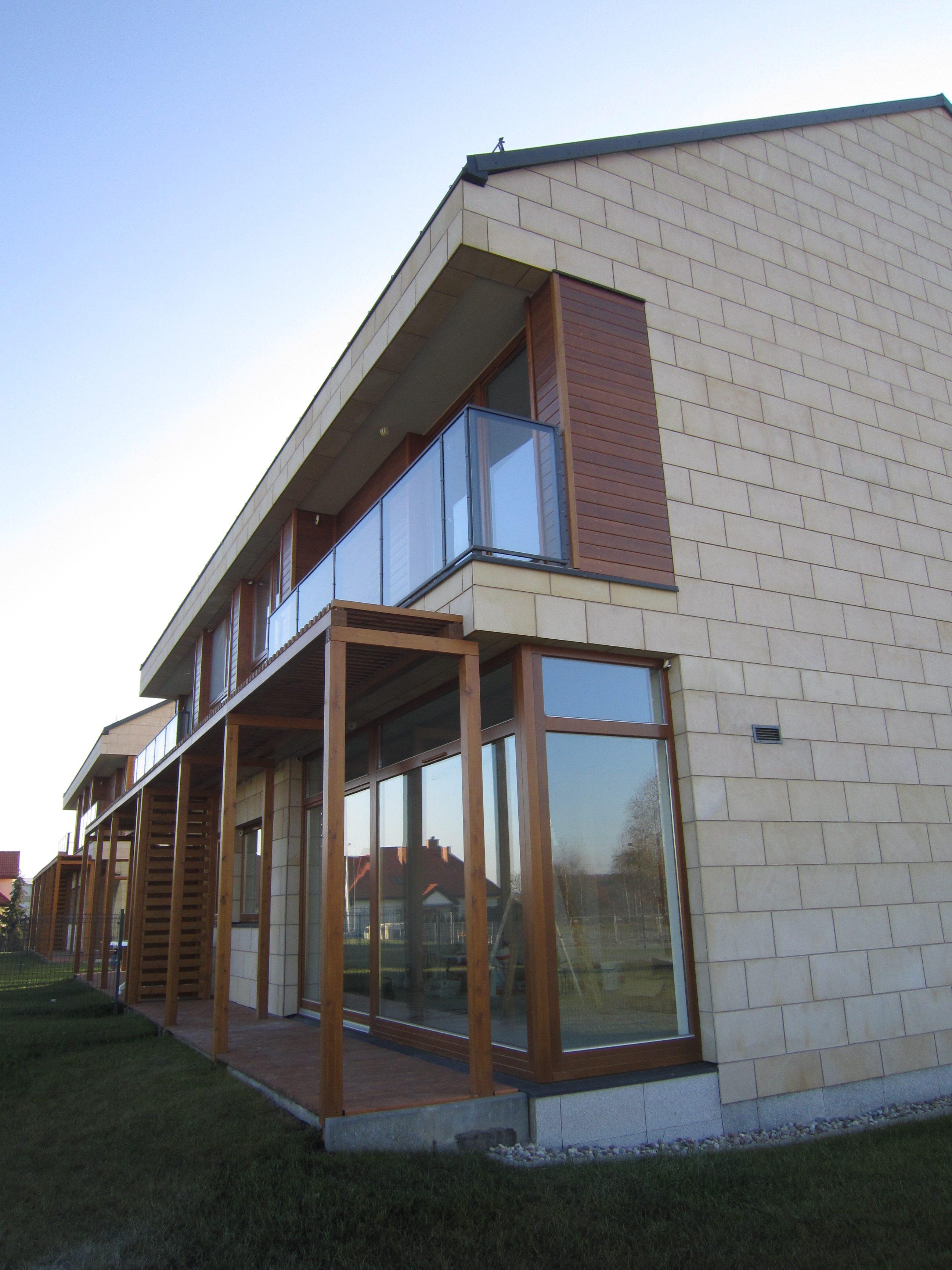 בניין מגורים מעוצב בפולין