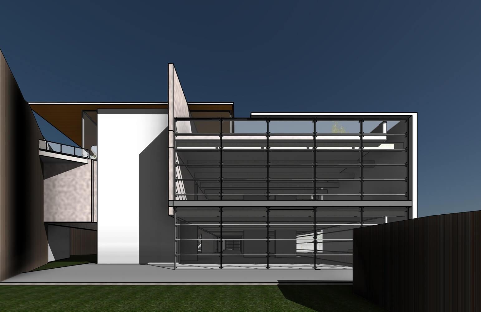 RZ-3D-new-3D-View-מבט-מחצר-מערבית-לבניין