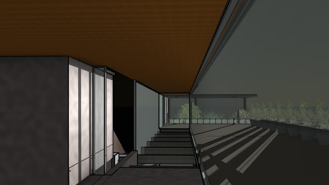 RZ-3D-new-3D-View-מבט-פנים-לכוון-מזרח-בזריחה