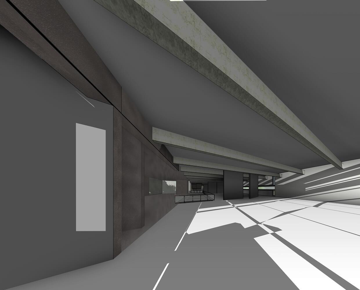 RZ-3D-new-3D-View-מבט-פנים-קומת-גלריות